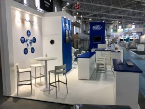 Tradeshow booth design and build at All4Pack Paris Nord Villepinte, France