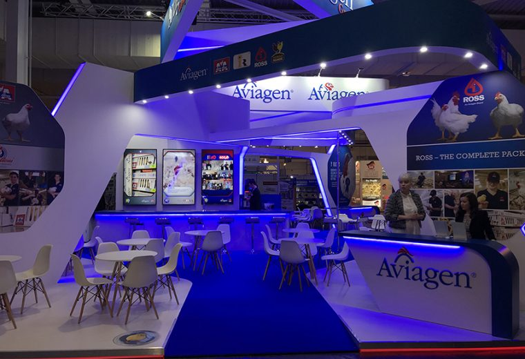 Tradeshow booth design in Hannover for Eurotier Germany