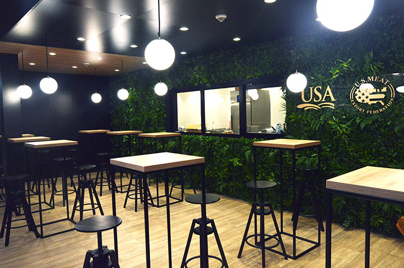 Trade show booth design at Koelnmesse for Anuga Germany
