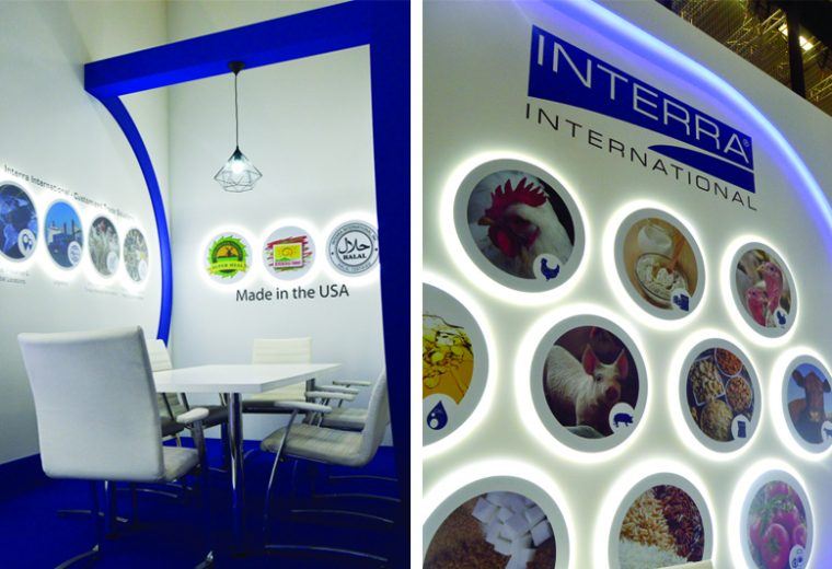 Trade show booth design at Koelnmesse for SIAL Germany