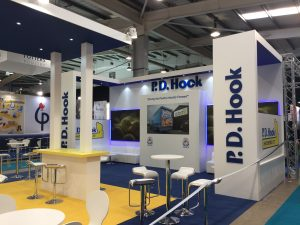 Tradeshow booth design and build at the Pig & Poultry Fair 2018 NAEC Stoneleigh UK