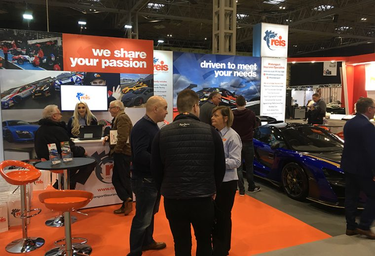 Trades how booth design at NEC for Autosport UK
