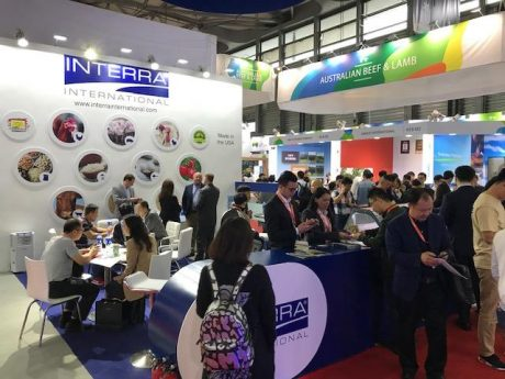 Trade show booth design in Shanghai China for Interra