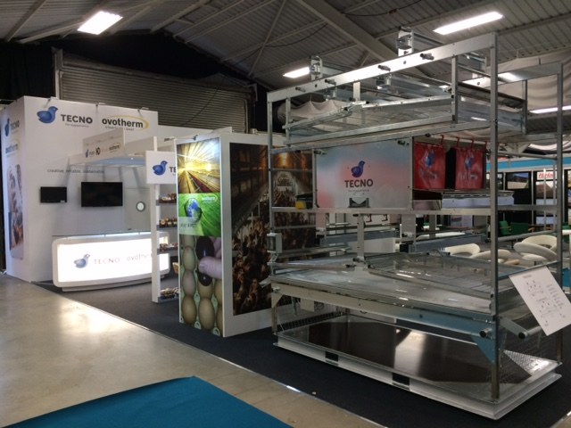 Custom built exhibition display stand for RSB at the Pig and Poultry Show NAEC