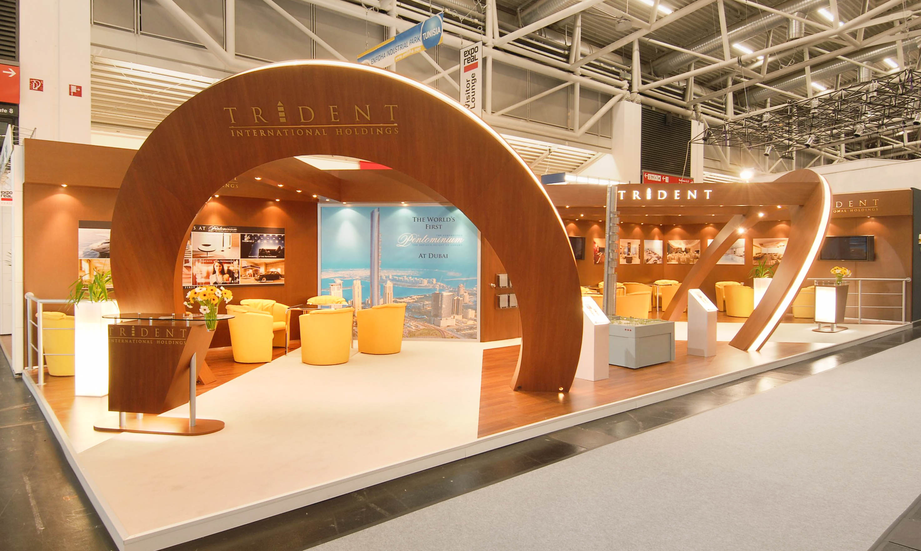 """""""Trident International Holdings exhibition stand"""""""