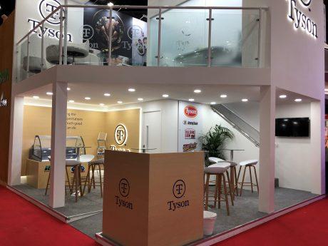 Tyson Foods Creative stand design in Dubai UAE