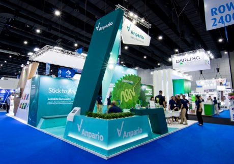 VIV Asia stand design and build in Bankok