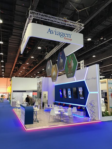 Exhibition Stand Abu Dhabi : Approved stand contractor viv mea uae opus creative