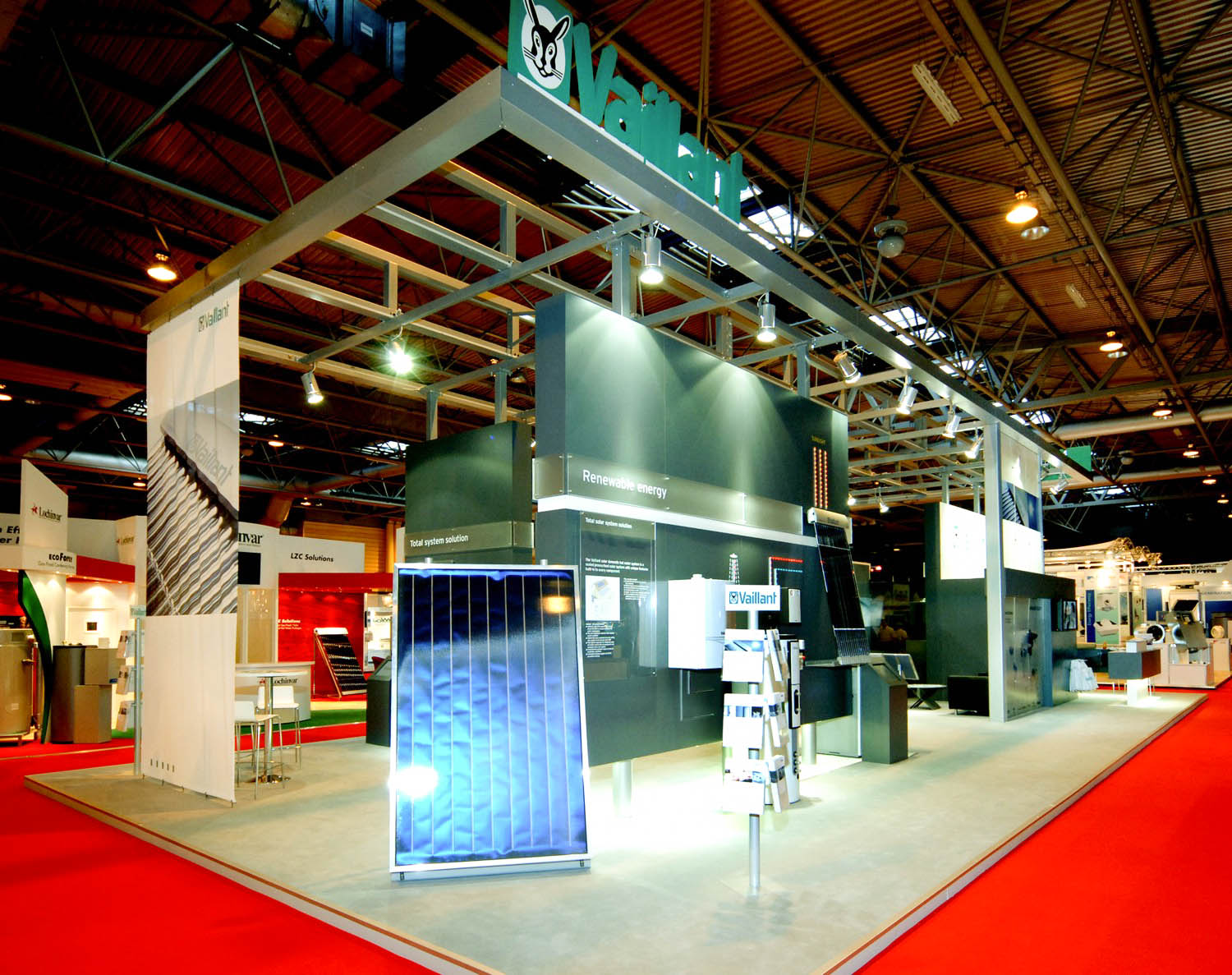 """""""Vaillant exhibition stand at H & V"""""""