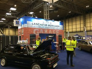 Exhibition stand design and build at The Restoration Show 2018 - NAEC Stoneleigh, UK