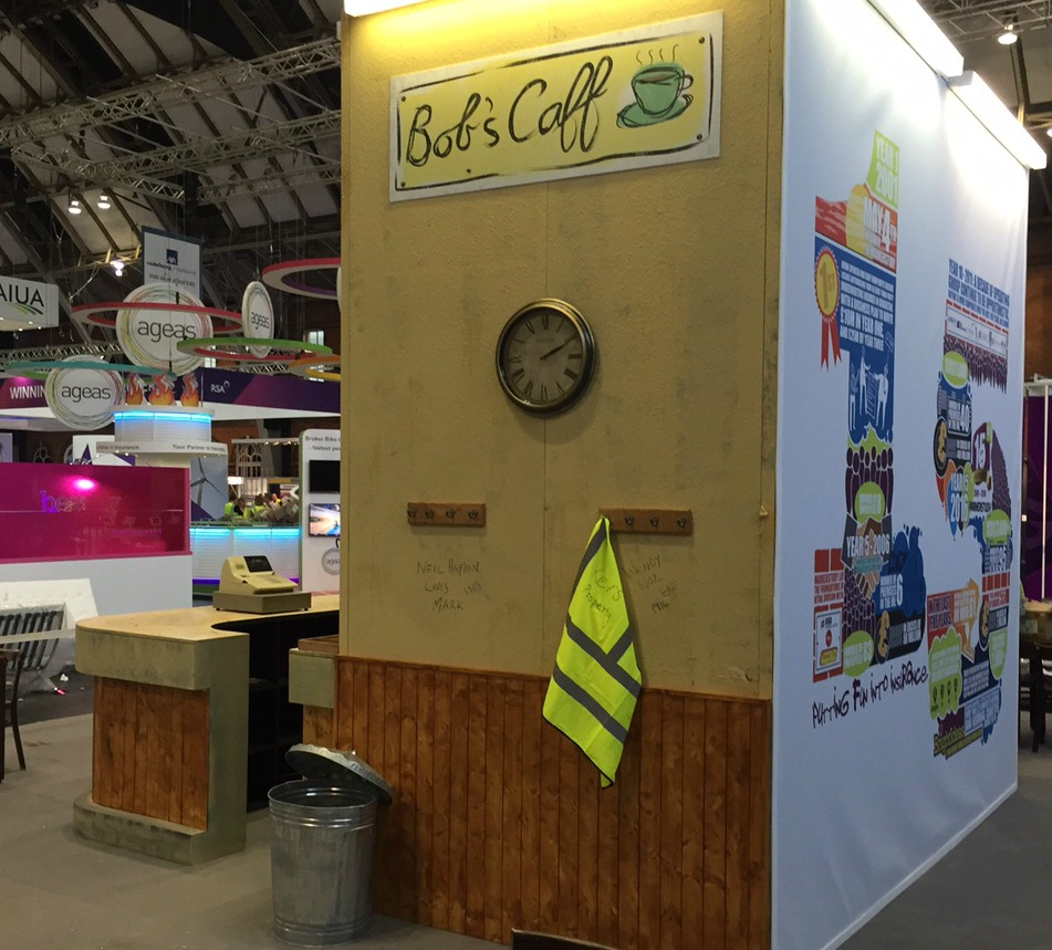 Trade show stand design for the BIBA conference and Exhibition