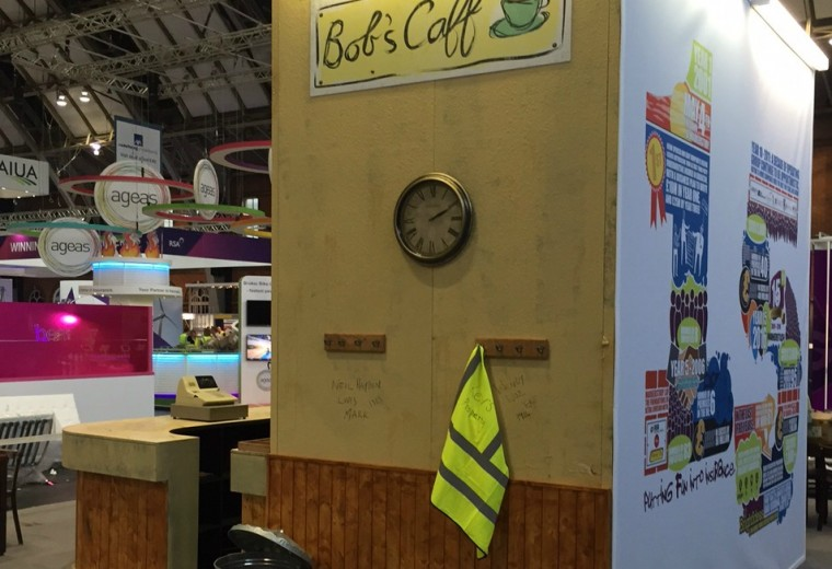Bespoke stall designed for BIBA conference and exhibition 2016